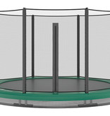 Akrobat Akrobat Orbit InGround 430 Groen incl. veiligheidsnet