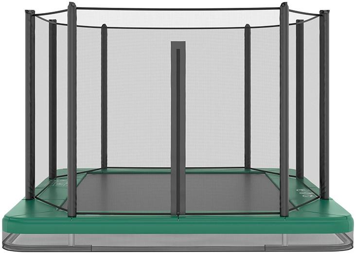 Akrobat Akrobat Orbit InGround 305x183 Groen incl. veiligheidsnet