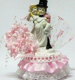 Mooi bruidspaar taart topper