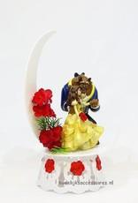 Disney Romantische Disney Belle en het Beest bruidstaart topper met maan