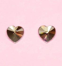 Faux kristal oorbellen