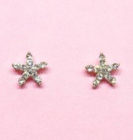 Strass sterren oorbellen