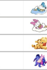 Geboorte bedankje van Disney Minnie Mouse in roze tule