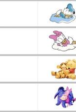 Geboortesuiker met Minnie Mouse kopje in roze tule