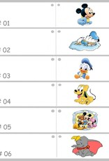 Disney Zeer mooie bedankje doosje met Eeyore erop versierd met een blauwe strikje