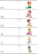 Disney Leuke bedankje met Disney Prinses Doornroosje erop