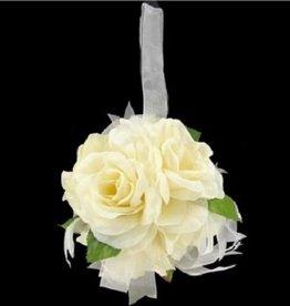Ivoor pomander bal voor u bruiloft.