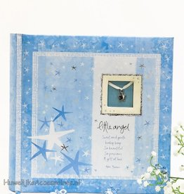 Foto album blauw voor jongens 'Little Angel'