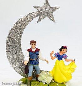 Disney Prinses Sneeuwwitje en Prins Charming taarttopper