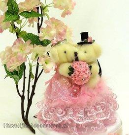 Beren bruidspaar muzikale taarttopper