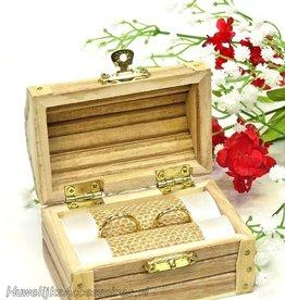 Schatkist trouwring doosje