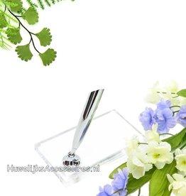 Transparante pennenstandaard langwerpig