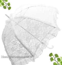 Wit kant bydemeyer paraplu