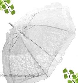 Mooi ivoor kant bydemeyer parasol
