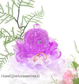 Disney Azalea kristal koets bruiloft taarttopper