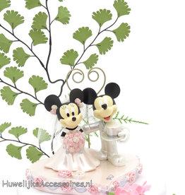 Disney Disney Mickey en Minnie bruidstaart topper