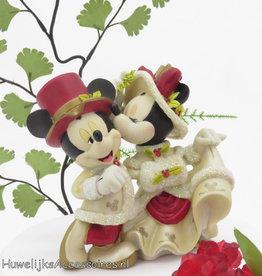 Disney Disney Victoriaanse Mickey en Minnie bruidstaart topper