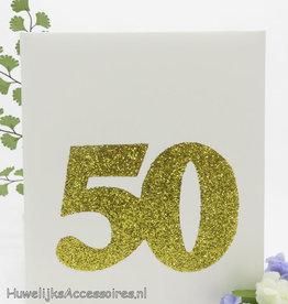 50ste  jubileum gastenboek