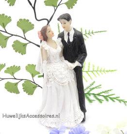 Zeer elegante huwelijks taarttopper