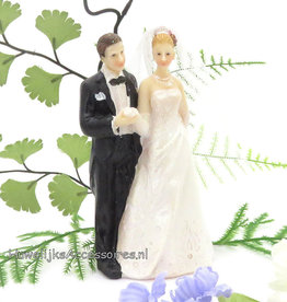 Mooi bruidspaar taarttopper