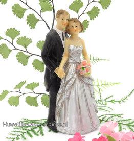 25ste jubileum bruidstaart topper