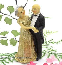 50ste jubileum bruidspaar