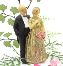 50 jarige jubileum bruidspaar
