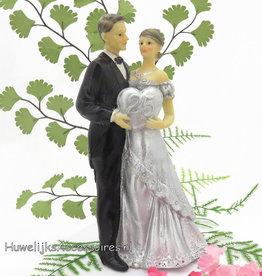25 jaar zilver Jubileum bruidspaar