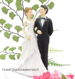 Taarttopper voor de bruiloft