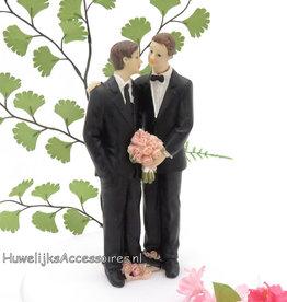Homo bruiloft taarttopper