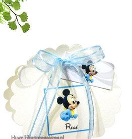 Disney Disney Mickey Mouse baby bedankje