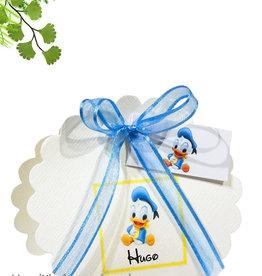 Disney Babyshower bedankje met baby Donald