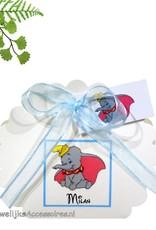 Disney Bedankje waaier doosje met daarop baby Dombo