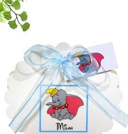 Disney Geboorte bedankje met Dumbo