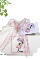 Disney Geboorte bedankje doosje met Minnie Mouse erop