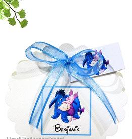 Disney Eeyore en Knorretje geboorte bedankje
