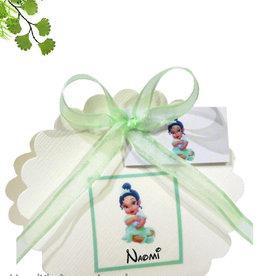 Disney Prinses Tiana geboorte bedankje