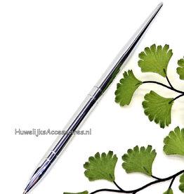 Prachtige zilveren receptie pen