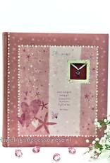 Mooie roze foto album voor meisjes 'Little Angel'