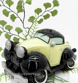 Oldtimer auto als taarttopper