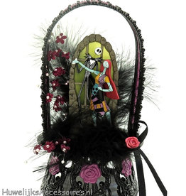 Disney Disney Jack Skellington en Sally bruidstaart topper
