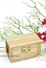 Zeer mooie hutkoffer trouwring doosje