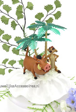 Disney Disney Timon en Pumba bruidstaart topper