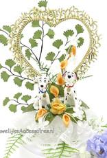 Disney 101 Dalmatiers huwelijkstaart topper