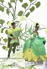 Disney Disney Princess Tiana met Prince Naveen bruidstaart topper