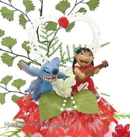 Disney Bruidstaart topper Stitch en Lilo
