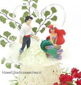 Disney Ariel en Eric Disney huwelijkstaart topper