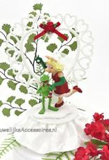 Disney Miss Piggy en Kermit Disney huwelijkstaart topper