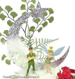 Disney Tinker Bell met Peter Pan taarttopper