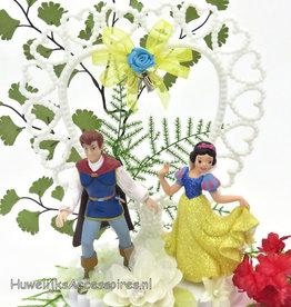 Disney Sneeuwwitje en Prins Charming taarttopper